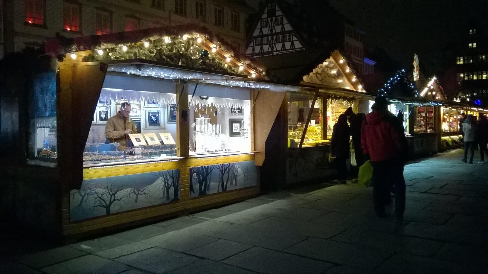 où me trouver : au Marché de Noël de Strasbourg