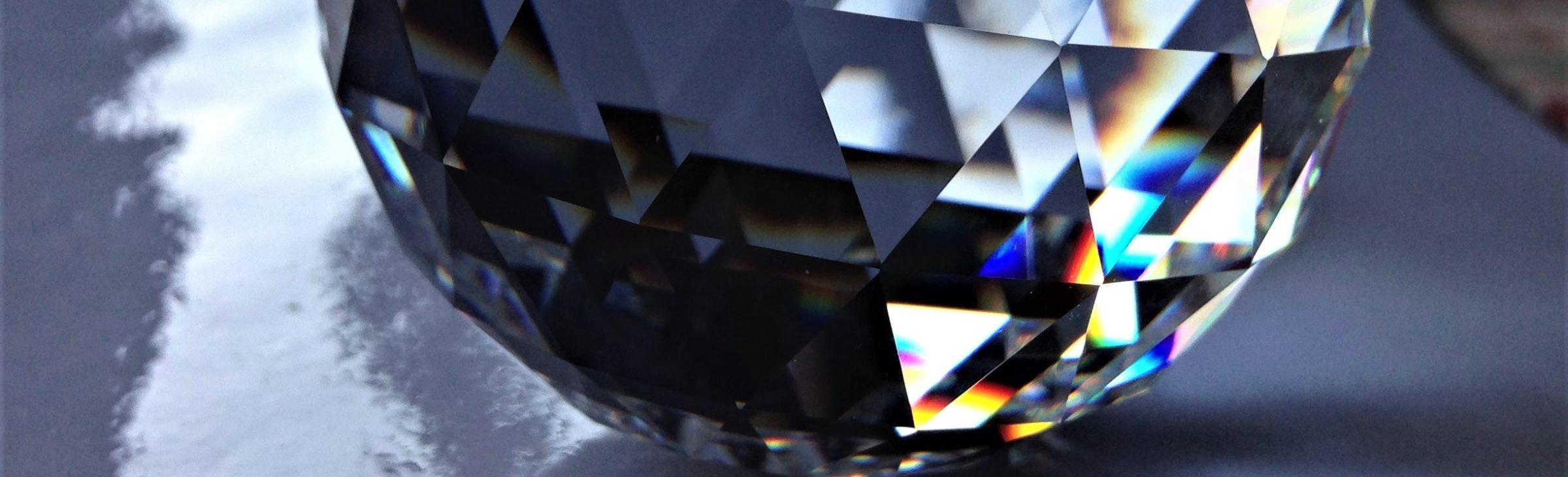 Prisme cristal Swarovski boule