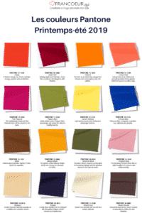 Les-couleurs-PantonePrintemps-été-2019