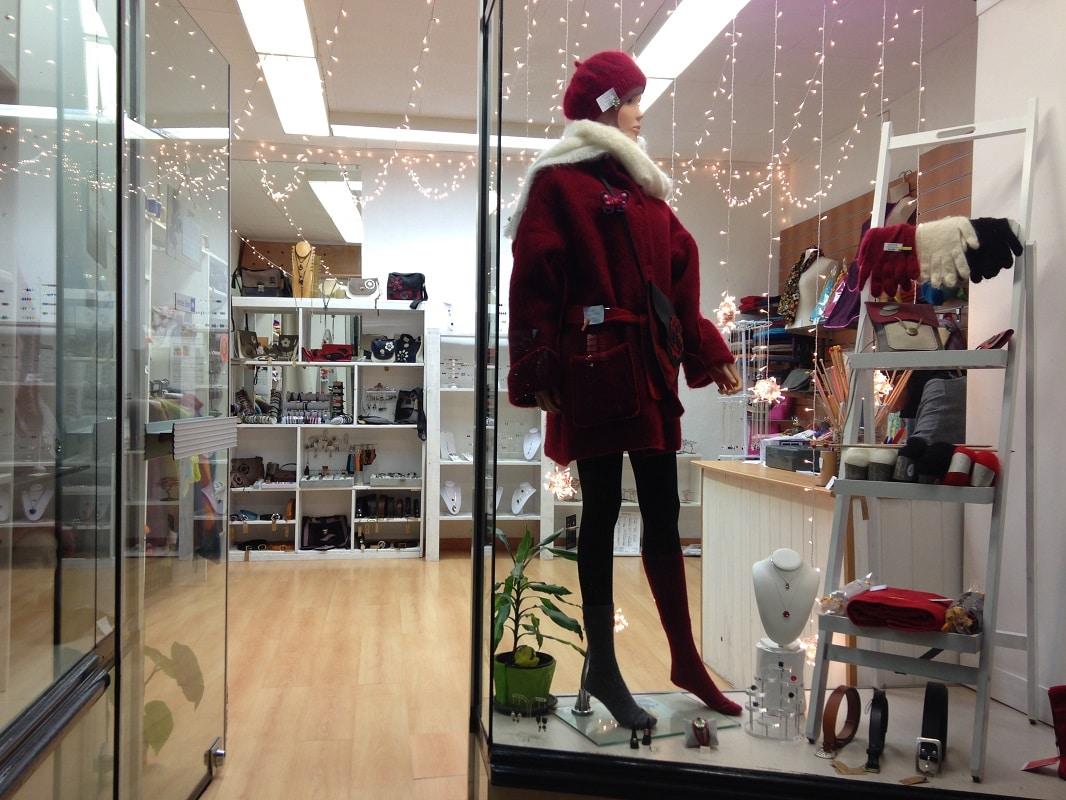 Boutique création artisanale Lanadora à Amélie les Bains