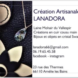 Lanadora création artisanale rue des Thermes Amélie-les-Bains
