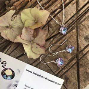 Parure Cristal en Boucles concours Instagram