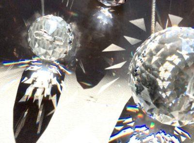 Bijoux de fenêtre en cristal