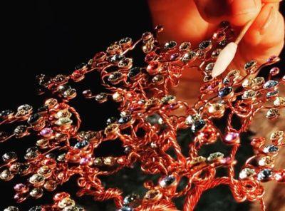 Objets en cristal fabrication artisanale